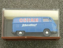 Brekina 3201 VW T1a Kasten Bus Osram international 1:87 OVP