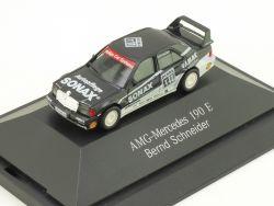 Herpa B66005617 167819 MB 190 E DTM AMG Mercedes Schneider OVP