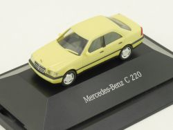 Herpa B66005610 166683 Mercedes MB C 220 Limousine Dealerbox OVP