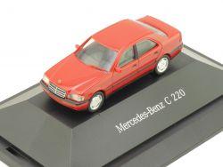 Herpa B66005610 181167 Mercedes MB C 220 Limousine Dealerbox OVP
