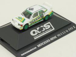 Herpa 3541 Mercedes 190 E 2.5-16 DTM AMG Snobeck EVO II PC OVP