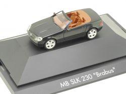 Herpa 101059 Mercedes-Benz SLK 230 Brabus Vitrine NEU! OVP