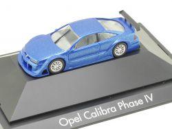 Herpa 101035 Opel Calibra V6 Phase IV 1995 Blau Vitrine TOP! OVP