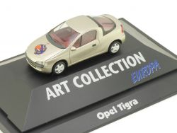 Herpa 045247 Opel Tigra Art Colletion Europa Vitrine PC NEU! OVP