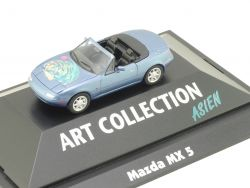Herpa 045186 Mazda MX-5 Art Collection Asien Cabriolet NEU! OVP