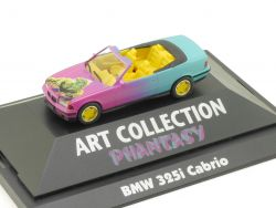 Herpa 045087 BMW 325i E36 Cabrio Art Collection Phantasy PC OVP