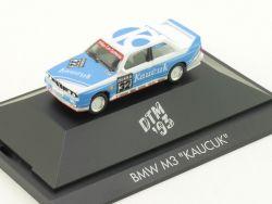 Herpa 035781 BMW M3 E30 Kaucuk DTM 1993 Vitrine PC 1:87  OVP