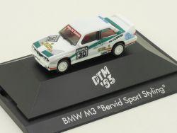Herpa 035811 BMW M3 E30 Bervid Sport Styling DTM 1993 PC NEU OVP