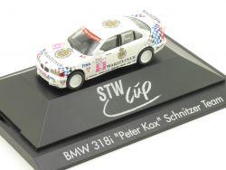 Herpa 036658 BMW 318i E36 Peter Kox Schnitzer Team STW Cup OVP