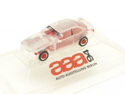 Herpa BMW M3 Coupe AAA 1994 Austellung Berlin Transparent OVP