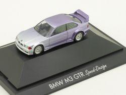 Herpa 184182 BMW M3 GTR E36 Speed Design Modell Vitrine OVP
