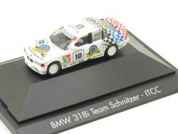 Herpa 182836 BMW 318i E36 Team Schnitzer ITCC Steve Soper OVP