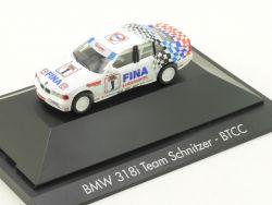 Herpa 182843 BMW 318i E36 Team Schnitzer BTCC Winkelhock OVP