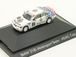 Herpa 182850 BMW 318i E36 Motorsport Team ADAC Cup Cecotto OVP