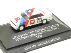 Herpa 035743 A BMW M3 E30 Dieter Quester DTM Österreich 1992 OVP