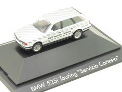 Herpa 100946 I BMW 525i Touring E34 Servizio Cortesia Modell OVP