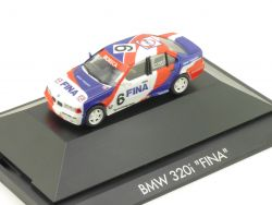 Herpa 035934 F BMW 320i E36 CFS Fina Frankreich Aiello PC OVP