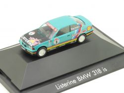 Herpa 035750 GB BMW 318is E36 Listerine Harvey #8 Modell PC OVP