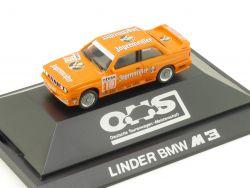 Herpa 035491 BMW M3 Sportevolution Linder Jägermeister Hahne OVP