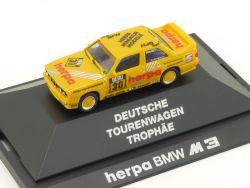 Herpa 3530 BMW M3 E30 DTT #30 M Neumeister Modellauto 1:87 OVP