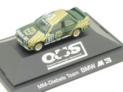 Herpa 3534 BMW M3 Sportevolution E30 MM Diebels Team Danner OVP