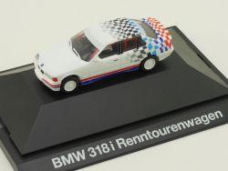 Herpa 80419419975 BMW 318i E36 Renntourenwagen Werbemodell OVP