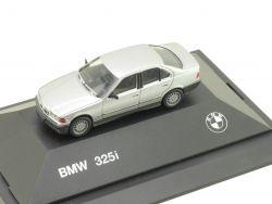 Herpa 82229417774 BMW 325i E36 Limousine Werbemodell Silber OVP