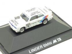 Herpa 82229417882 BMW M3 Linder Altfrid Heger 16 Werbemodell OVP
