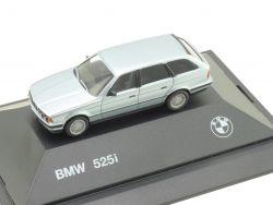 Herpa 82229417854 BMW 525i Touring Silbermet Werbemodell PC  OVP