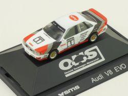 Herpa 3536 Audi V8 SMS DTM #1 Hans-Joachim Stuck Modellauto OVP