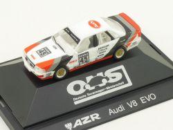 Herpa 3539 Audi V8 AZR DTM #45 Frank Biela Vitrinenmodell PC OVP
