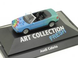 Herpa 045025 Audi Cabrio B3 Blau Art Collection Fresh Modell OVP