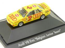 Herpa 035989 B Audi V8 Evolution Belgien Procar Daems OVP