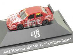 Herpa 036023 Alfa Romeo 155 Schübel Team Francia DTM 1993 OVP