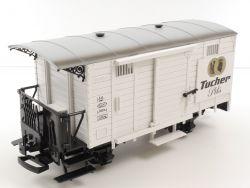 Lehmann 3032 LGB Tucher Pils Bierwagen Güterwagen Spur G TOP