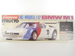 Carrera 90225 Structo BMW M1 RC-Modell 1:12 Funktion OK 124 OVP