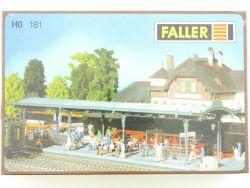 Faller 181 Bahnsteig Friedrichshöhe 120181 Bausatz Folie NEU OVP