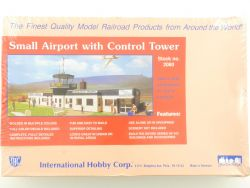 IHC 2080 Small Airport with Control Tower Flughafen H0 NEU! OVP