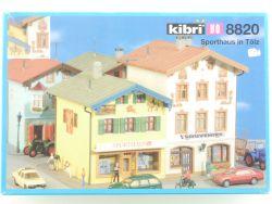 Kibri 8820 Sporthaus Souvenirs Bad Tölz 38820 Bausatz H0 NEU OVP