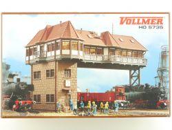 Vollmer 5735 Reiterstellwerk Stuttgart 45735 Modellbahn NEU! OVP