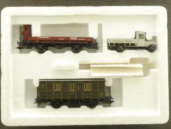 Märklin 4509 Güterwagen-Set Bauzug L. Weiss DRG TOP OVP