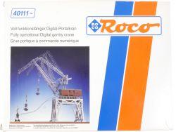 Roco 40111 Drehkran Portalkran für Märklin Digital System NEU OVP