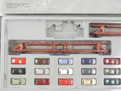 Märklin 2663 Autotransportzug aus dem Volkswagen-Werk lesen! OVP