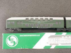 Sachsenmodelle 14310 Doppelstockwagen DR DDR Ep.IV TOP!   OVP