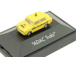 Herpa 183932 Trabant Trabbi ADAC Straßenwacht Vitrine 1:87 OVP
