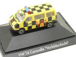 Herpa 182683 VW T4 Caravelle Vorfeldaufsicht Flughafen Frankfurt OVP
