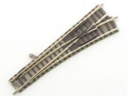Fleischmann 9171 Piccolo Weiche rechts Spur N Gleis sehr gut