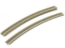 Fleischmann 9130 3x Gebogenes Gleis R3 Schiene Spur N