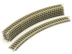 Fleischmann 9120 Piccolo 6x Gebogenes Gleis R1 192 mm Spur N
