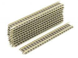 Fleischmann 9101 10x Gerades Gleis 111 mm dunkleres Design T ST
